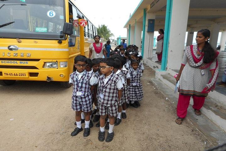 Krishna International School-Bus