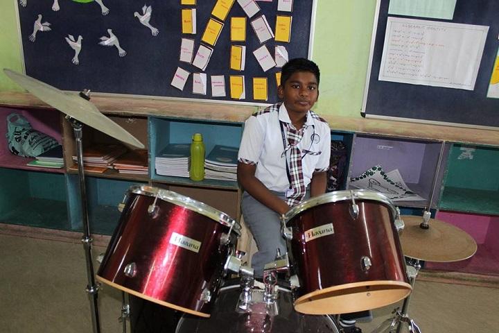 Krishna International School-Drums