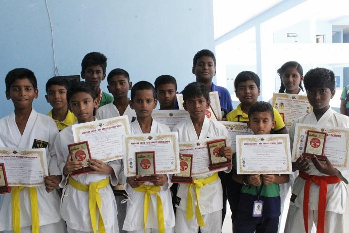 Krishna International School-Karate Winner