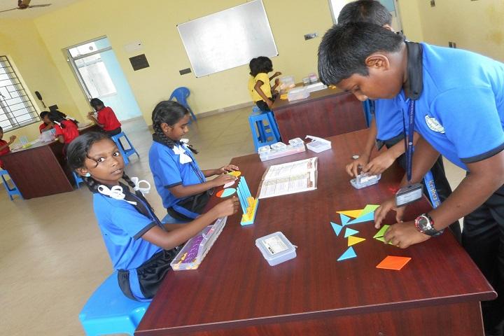 Krishna International School-Math Lab