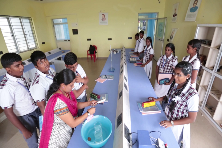 Krishna International School-Physics Lab