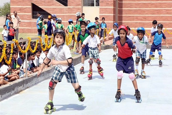 Krishna International School-Skating