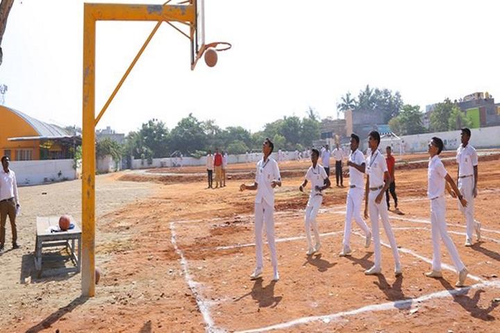 KRM Public School-Basket  Ball