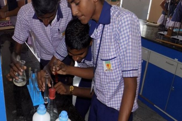KRM Public School-Chemistry Lab