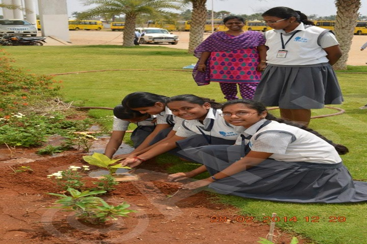 KSR Akshara Academy-Green day