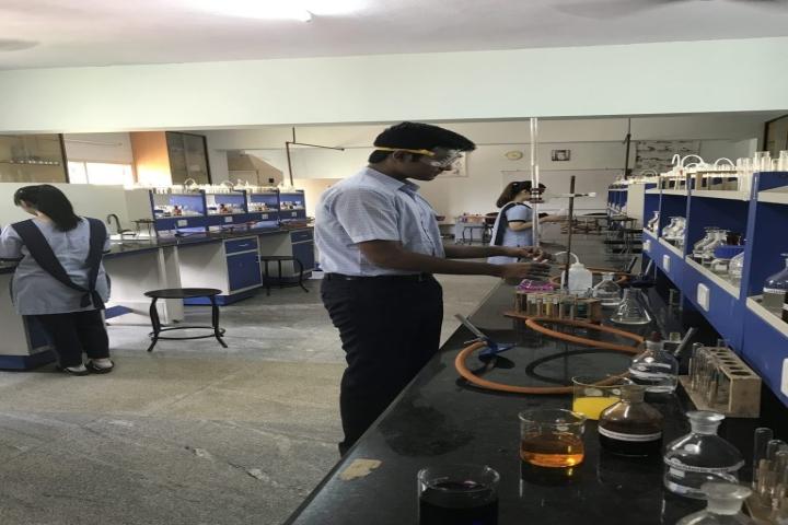Lalaji Memorial Omega International School-Chemistry Lab