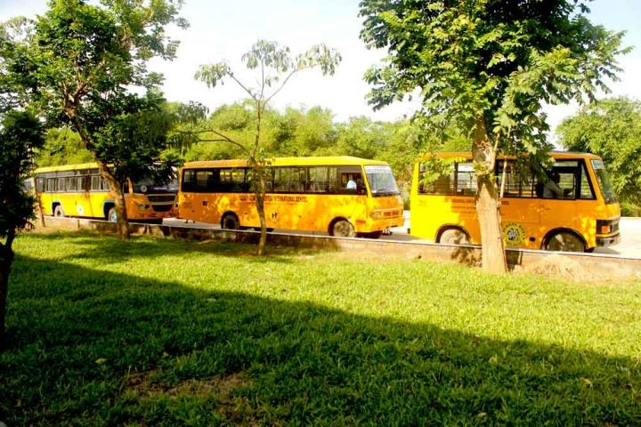 Lalaji Memorial Omega International School-Transportation