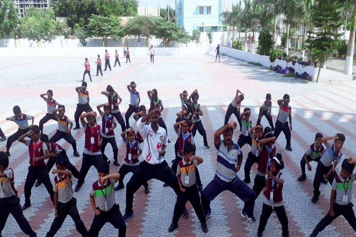 CMI Public School-Karate