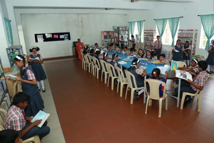 CMI Public School-Library