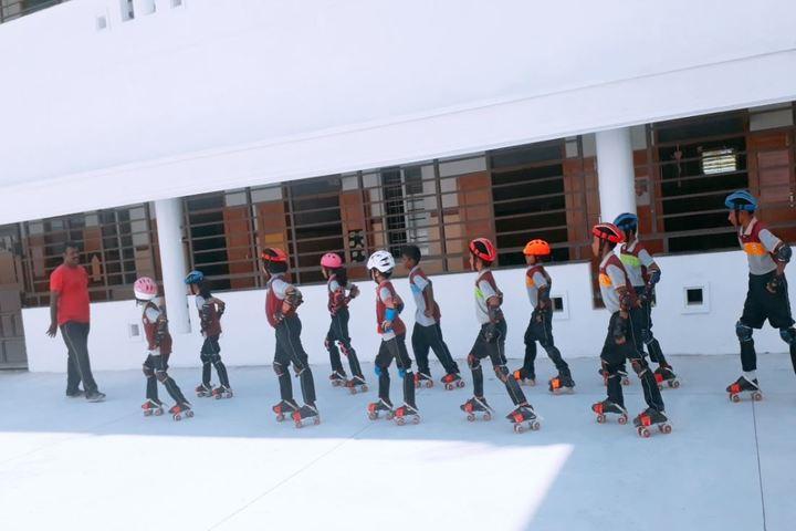 CMI Public School-Skating