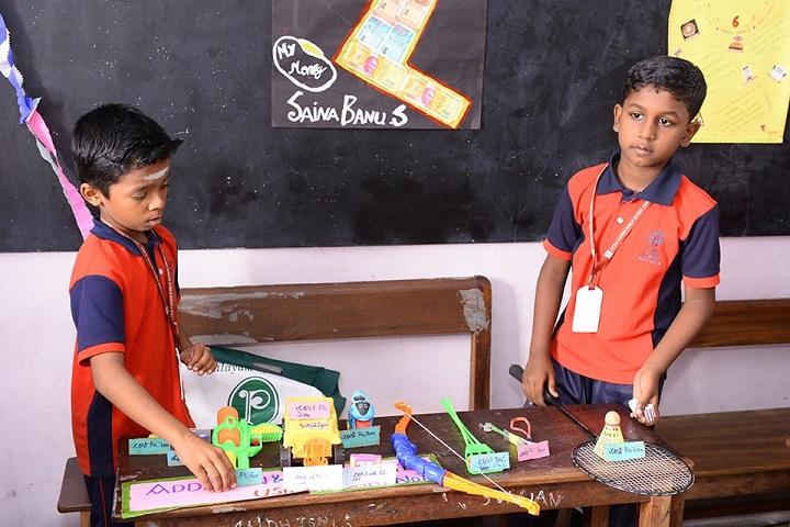 Little Flower Public School - Maths Expo