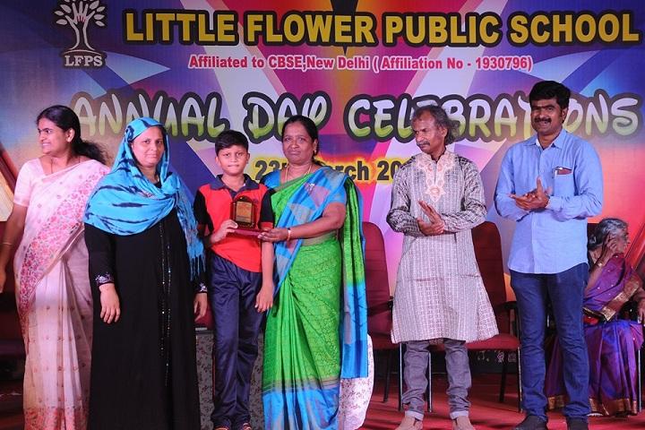 Little Flower Public School - Prize Distribution