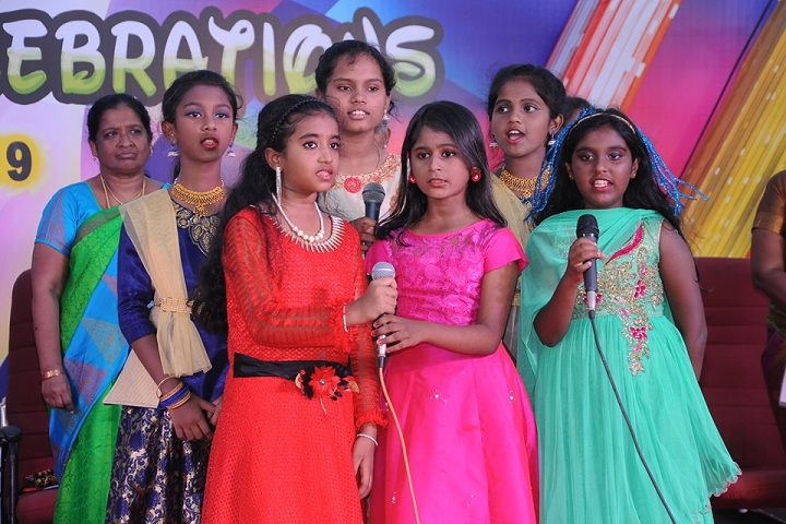 Little Flower Public School - Singing Competetiopn