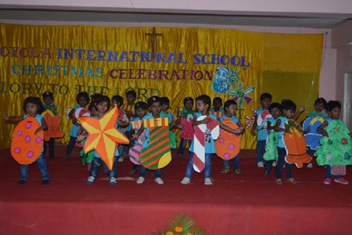 Loyola International School-Christmas Celebrations