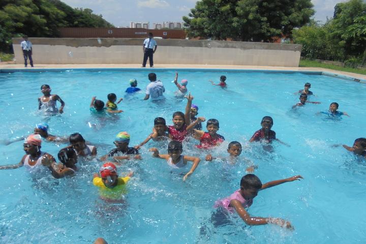 Loyala International Residential School-Swimming Pool