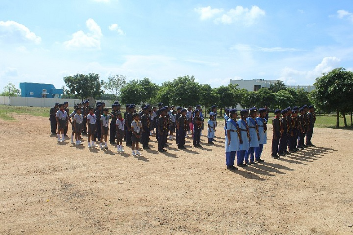 Loyola Acedamy-Scout Camp