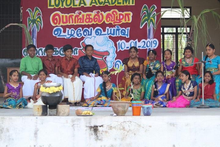 Loyola Acedamy-pongal Celebrations