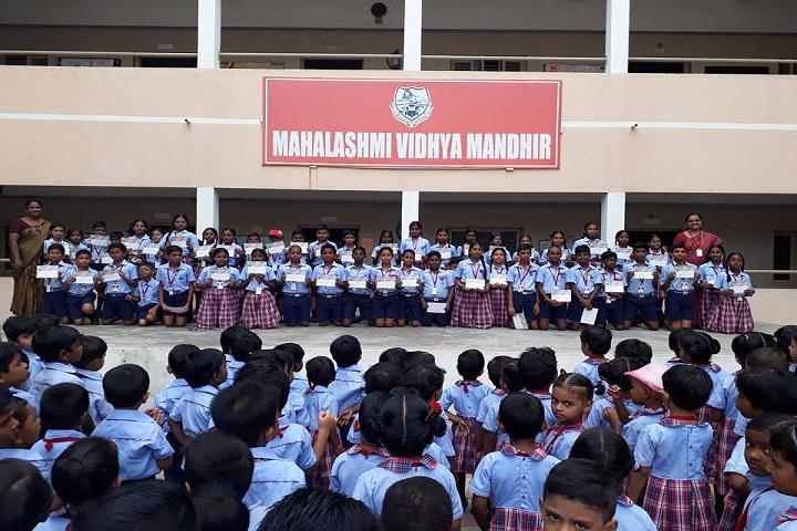 Mahalakshmi Vidya Mandir-OUNG RAMANUJAN COMPETETION