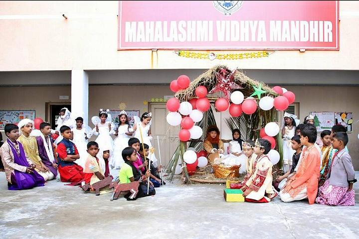 Mahalakshmi Vidya Mandir-christmas-celebration