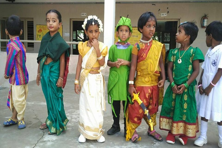 Mahalakshmi Vidya Mandir-fancy dress