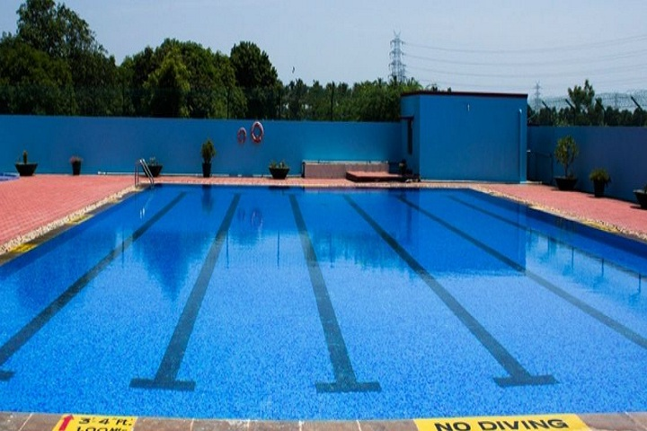 Maharishi International School-swimming pool