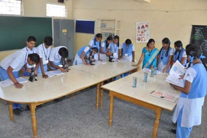 Maharishi School Of Excellence-Biology Lab