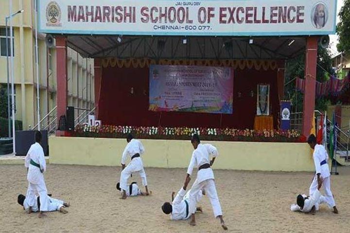 Maharishi School Of Excellence-Karate