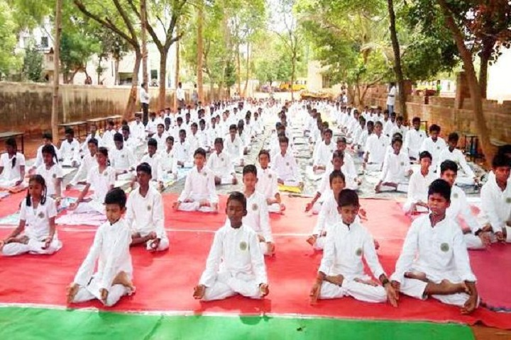 Maharishi School Of Excellence-Yoga Day