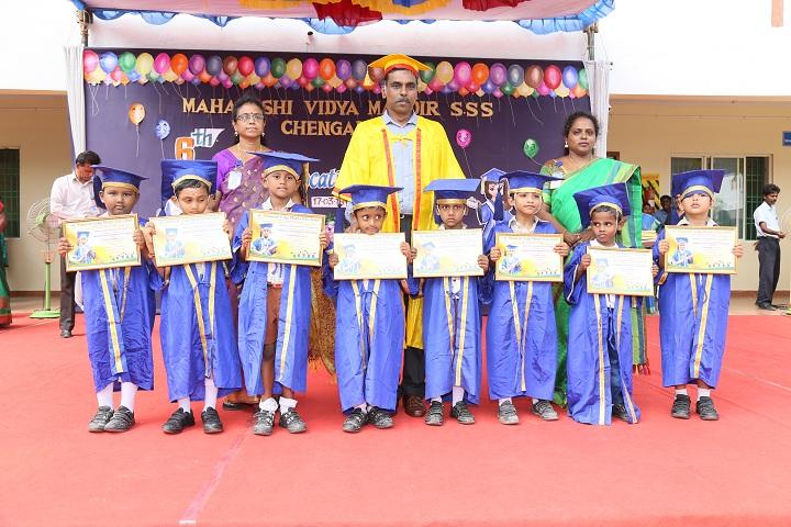 Maharishi Vidya Mandir-Graduation day