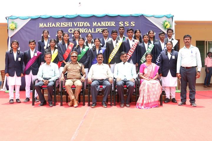 Maharishi Vidya Mandir-Investiture Ceremony