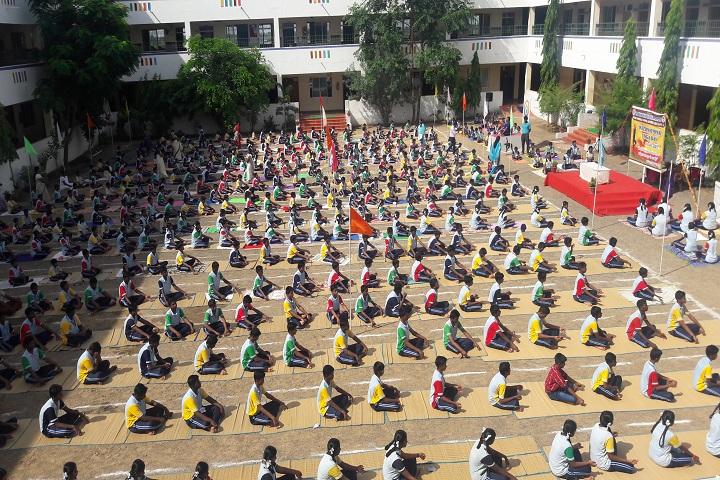 Maharishi Vidya Mandir - Yoga Day