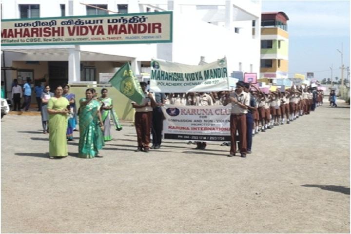 Maharishi Vidya Mandir-Ganthi Jayanthi Rally