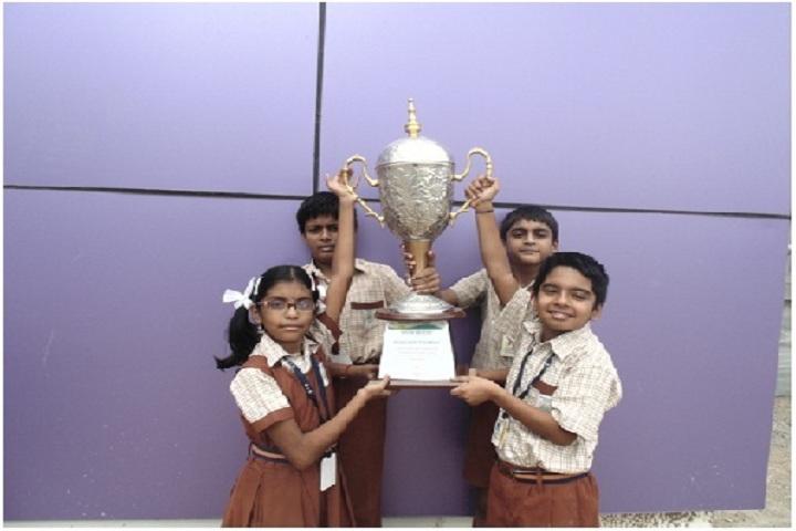 Maharishi Vidya Mandir-Quiz Overall-Trophy