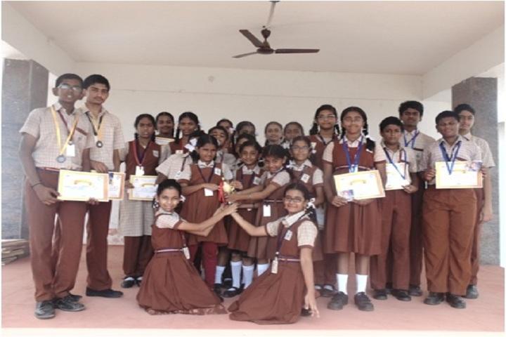 Maharishi Vidya Mandir-Winners of the Competitions held at Anna University