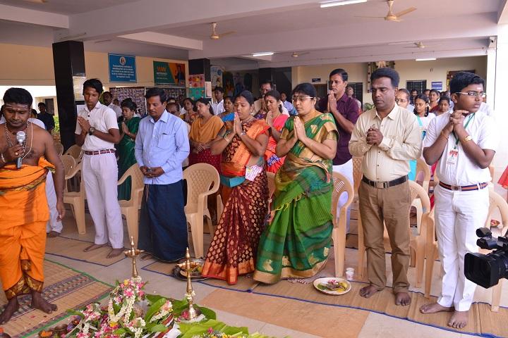 Maharishi Vidya Mandir-Patha Pooja