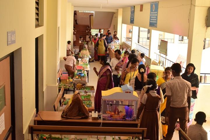 Maharishi Vidya Mandir-Science Exhibition