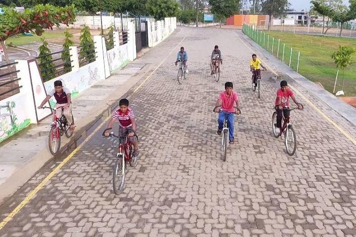 Maharishi Vidya Mandir-Cycling