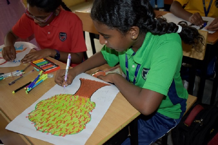 Mahatma Gandhi International School-Drawing Competitions