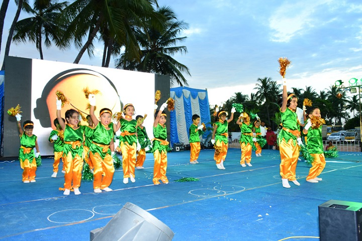 Mahatma Gandhi International School-Nursery Students Dances
