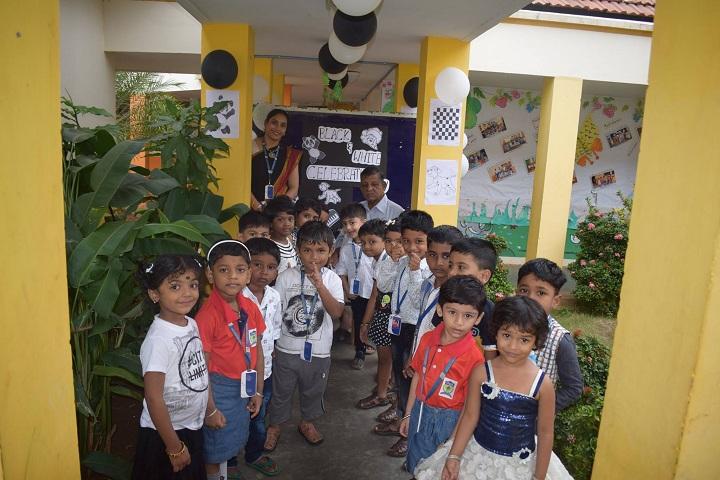 Mahatma Gandhi International School-Black And White Day