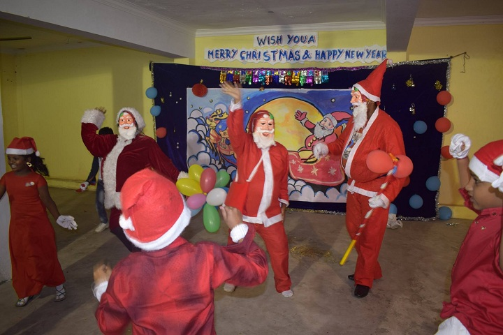 Mahatma Gandhi International School-Christmas Celebrations