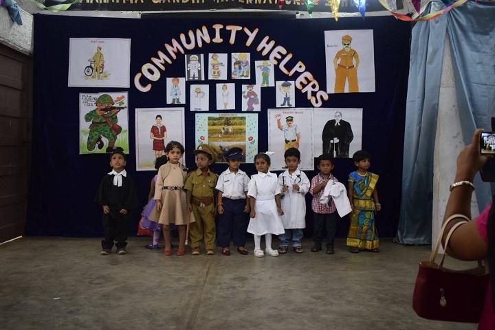 Mahatma Gandhi International School-Community Helpers
