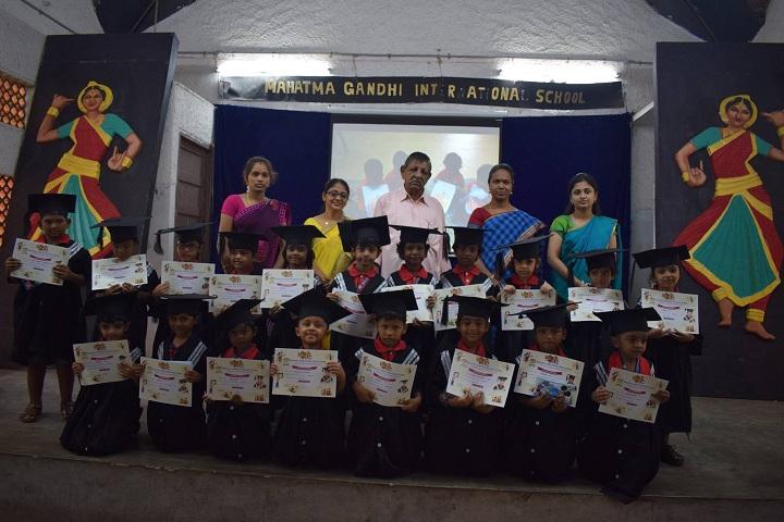 Mahatma Gandhi International School-Graduation Day
