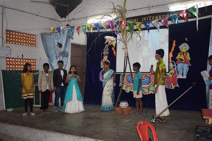 Mahatma Gandhi International School-Pongal Celebrations