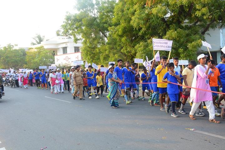 Mahatma Gandhi International School-Rally