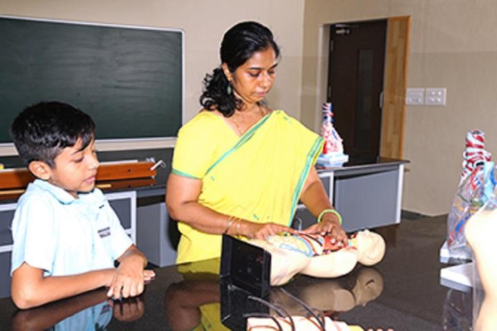 Mahatma Global Gateway School-Biology Lab