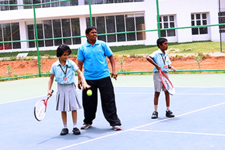 Mahatma Global Gateway School-Tennis Court