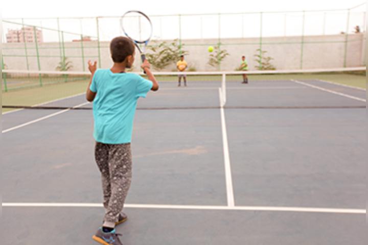 Mahatma Montessori School - Tennis Court
