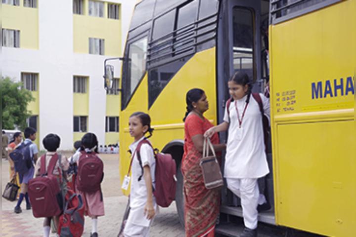 Mahatma Montessori School - Transport Facilties