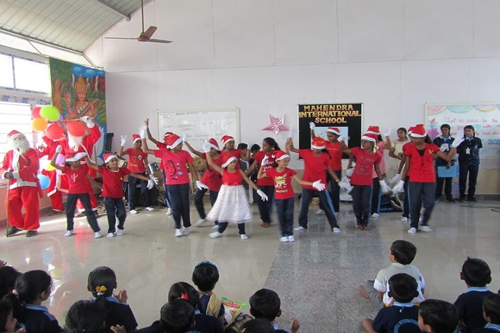 Mahendra International School-Christmas and New Year Celebration
